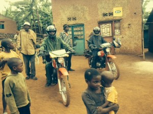 FXB staff guide us into Musanze and through some of the villages