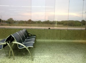 Airport waiting lounge Barranquilla, Colombia